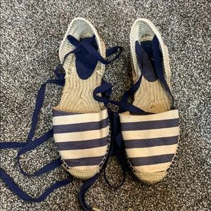 Handmade in Spain lace up sandals